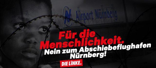 Nein zum Abschiebeflughafen Nürnberg