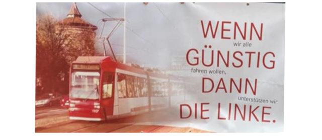 Faschingsumzug in Nürnberg — DIE LINKE. war dabei