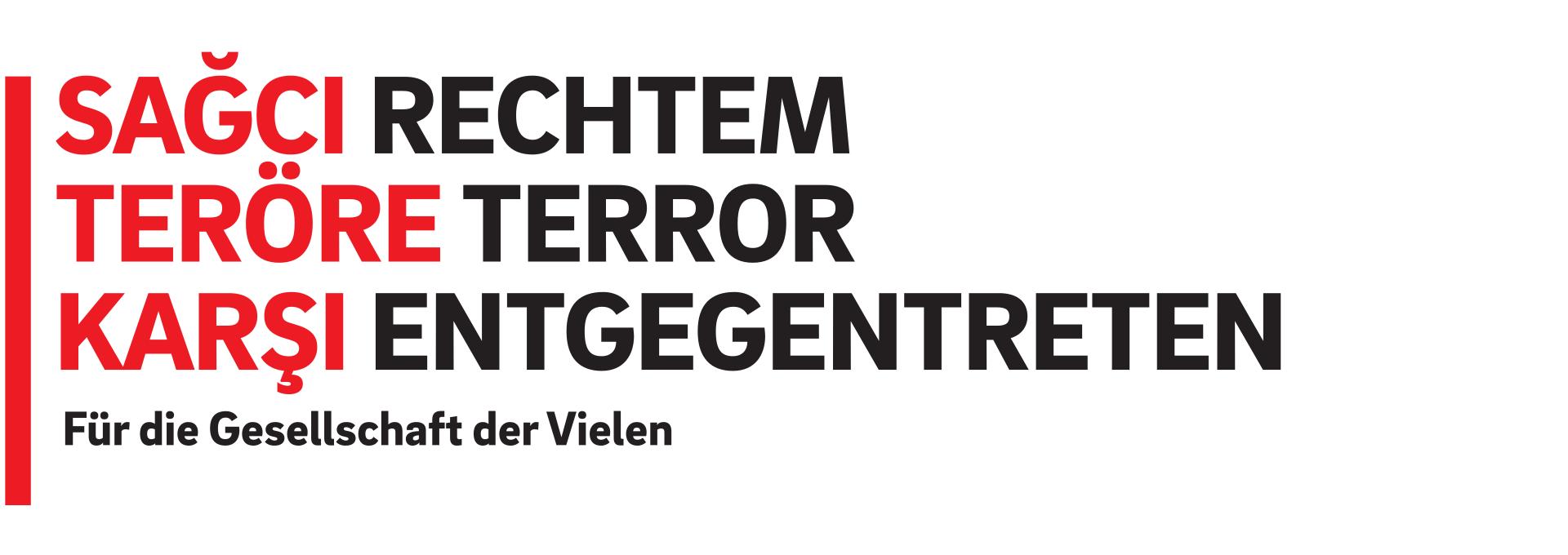 Rechtem Terror entgegentreten - Für eine Gesellschaft der Vielen