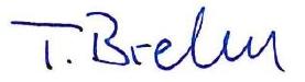 Unterschrift Thorsten Brehm